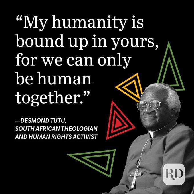 Desmond Tutu Black History Month Quote