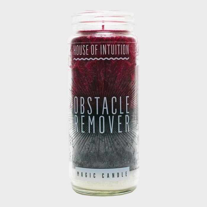 House Of Intuition Obstacle Remover Magic Candle