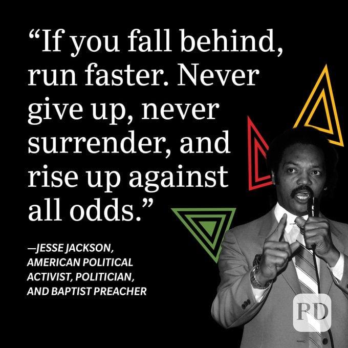 Jesse Jackson Black History Month Quote