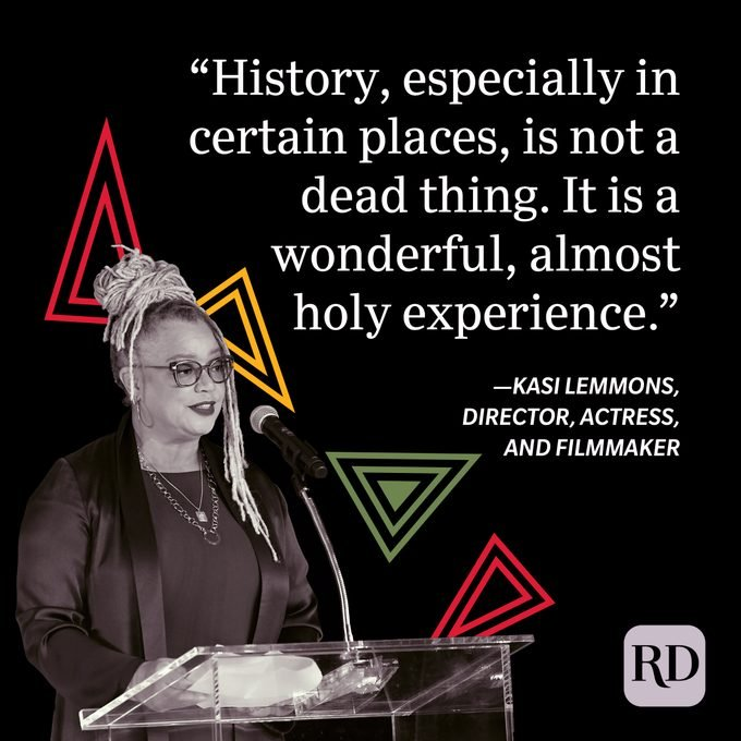 Kasi Lemmons Black History Month Quote