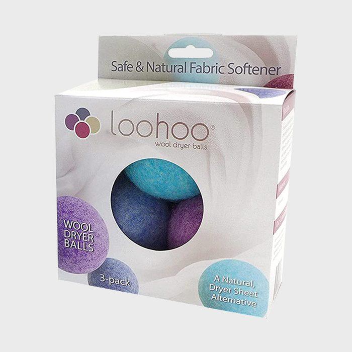 Loohoo Wool Dryer Balls Deluxe Starter 3 Pack