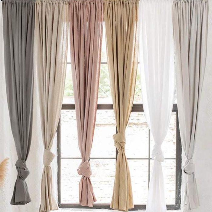 Magiclinen Rod Pocket Linen Curtains
