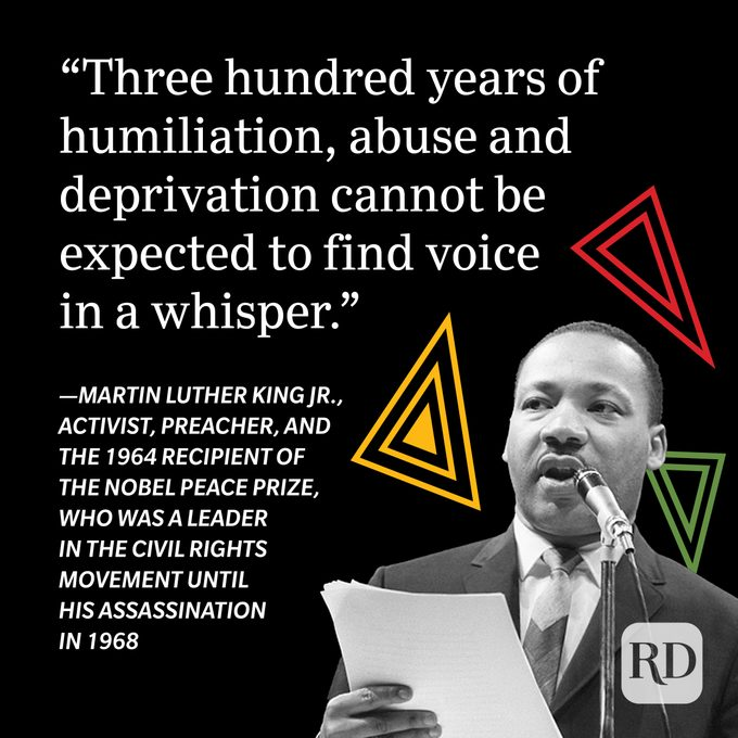 Martin Luther King Jr. Black History Month Quote