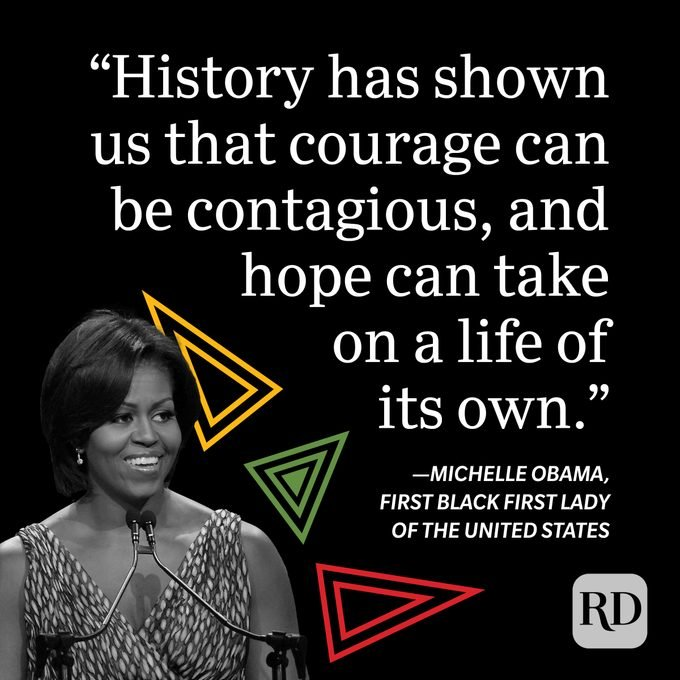 Michelle Obama Black History Month Quote