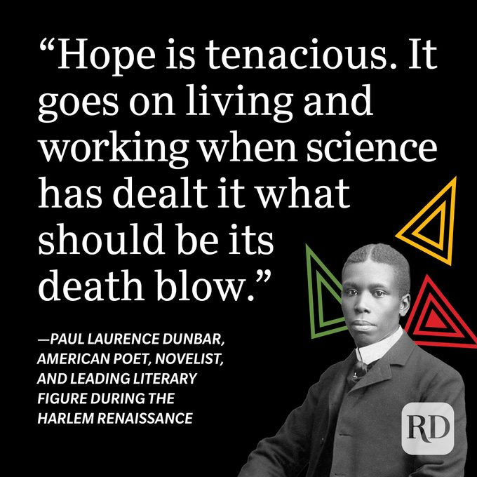 Paul Laurence Dunbar Black History Month Quote
