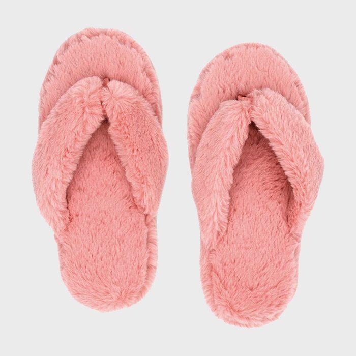 Pudus Cottontail Flip Flop Slippers