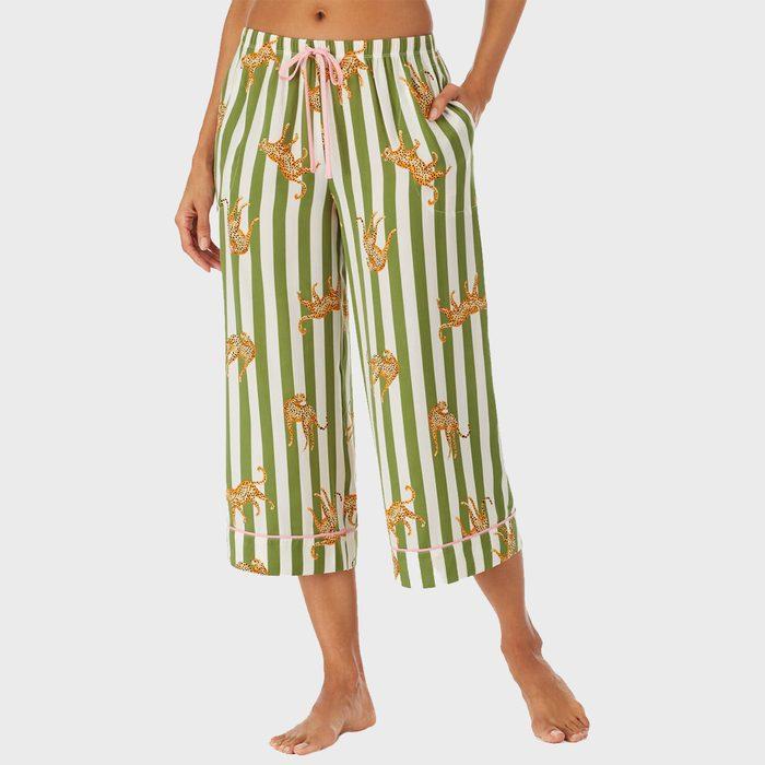 Room Service Wide Leg Crop Lounge Pants