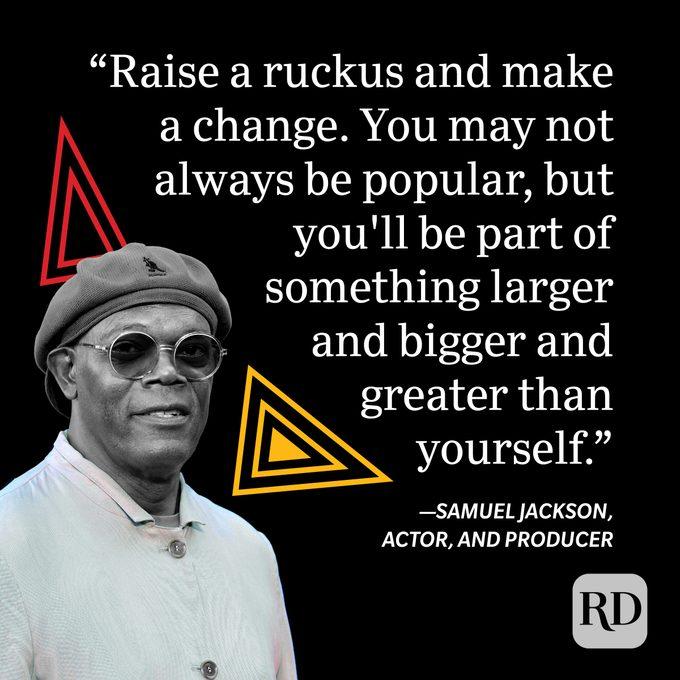 Samuel Jackson Black History Month Quote