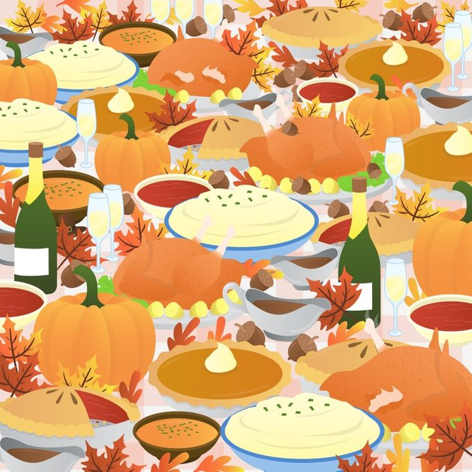 Thanksgiving Find The Pilgirm Hat Puzzle