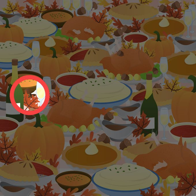 Thanksgiving Find The Pilgrim Hat Puzzle Answer