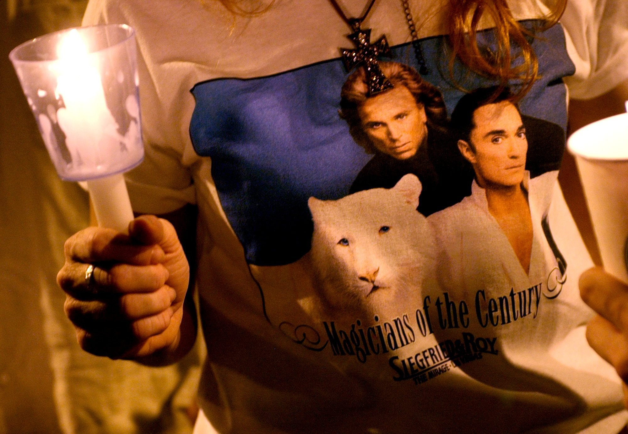 siegfried and roy tshirt