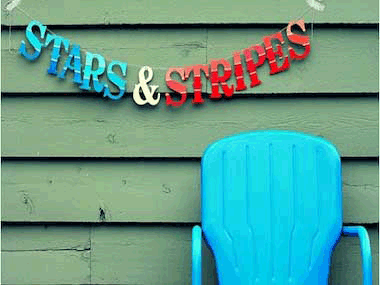 Celebrate stars and stripes