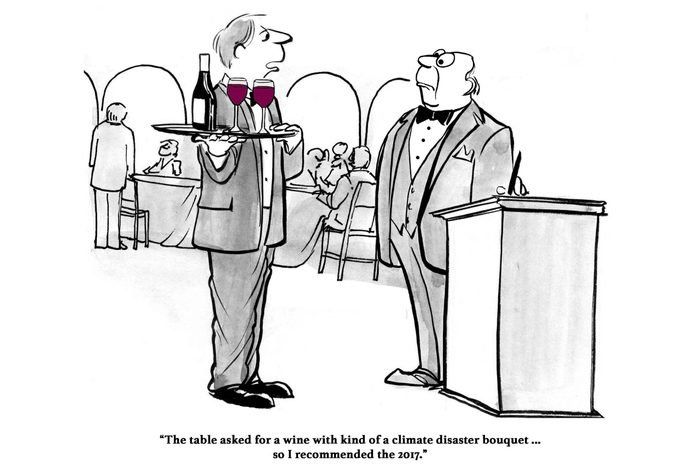 climate disaster wine