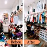 How to Organize a Closet Once and for All