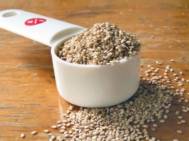 7. SECRET INGREDIENT: sesame seeds