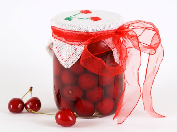 13. SECRET INGREDIENT: cherry preserves
