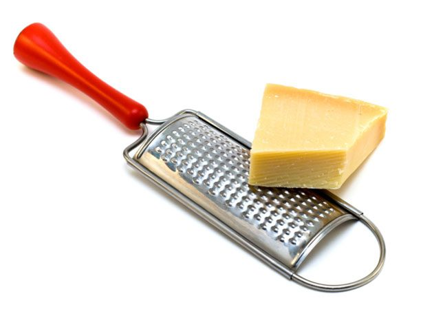 Cheese Grater Tip