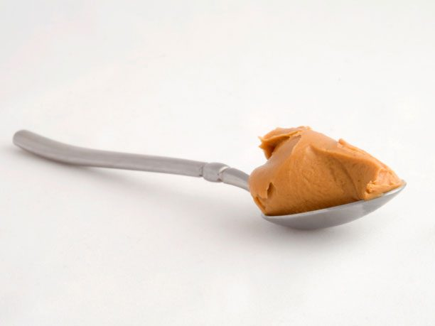 Have some peanut butter.