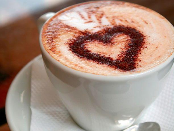 6. Latte art isn't merely decorative