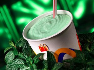 mcdonalds green shamrock shake