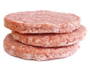 Frozen Hamburger Patties