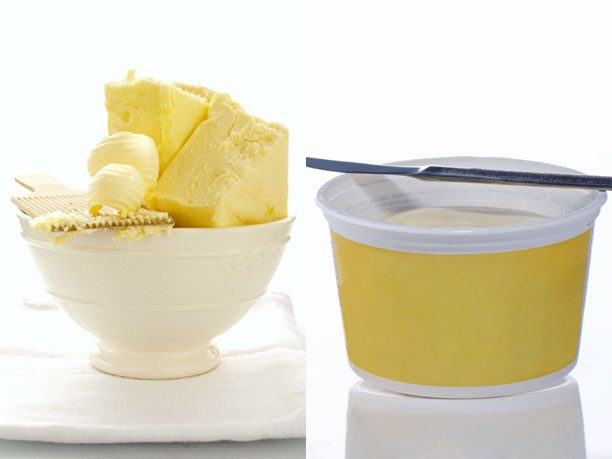 I Can't Believe It's Not Butter (original) vs. Farm Butter (salted)