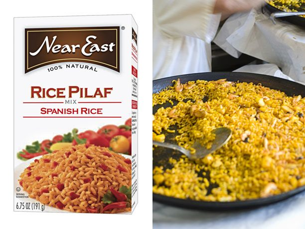 Near East Spanish Rice vs. Homemade Spanish Rice