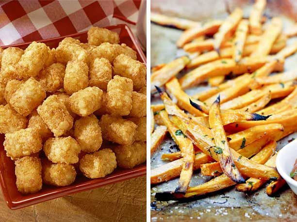 Ore-Ida Tater Tots vs. Homemade French Fries