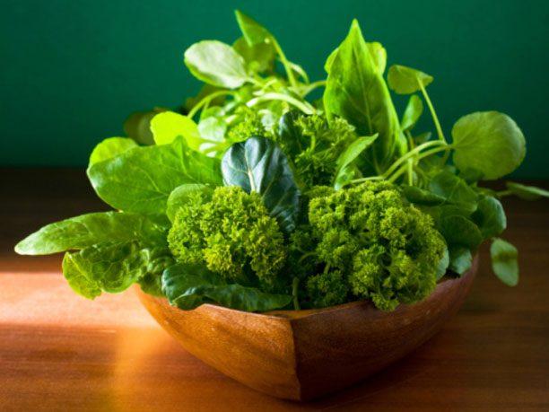 7. Leafy greens