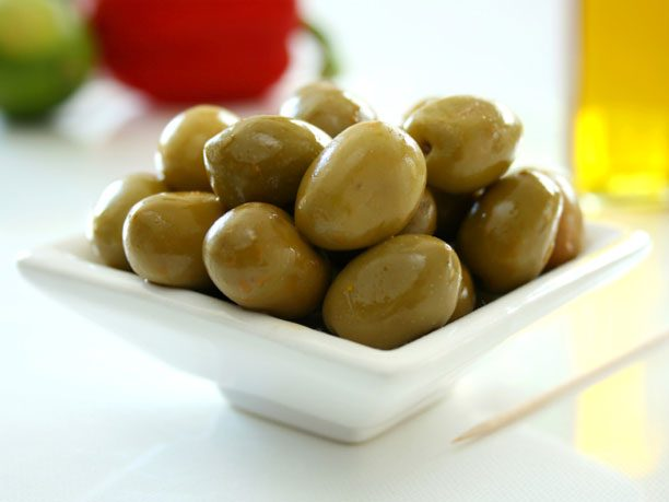 Bread and Butter Alternative #1: Olives