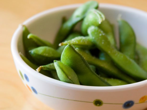Bread and Butter Alternative #3: Edamame