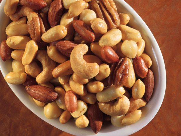 Bread and Butter Alternative #5: Peanuts or mixed nuts