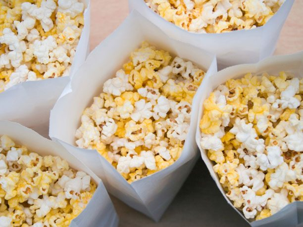 Bread and Butter Alternative #6: Popcorn
