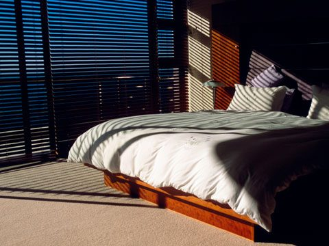 9 to keep your room dark use blackout draperies or shades not blinds because they never completely block out light install the shades as close to the