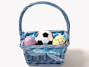 Creative Easter basket