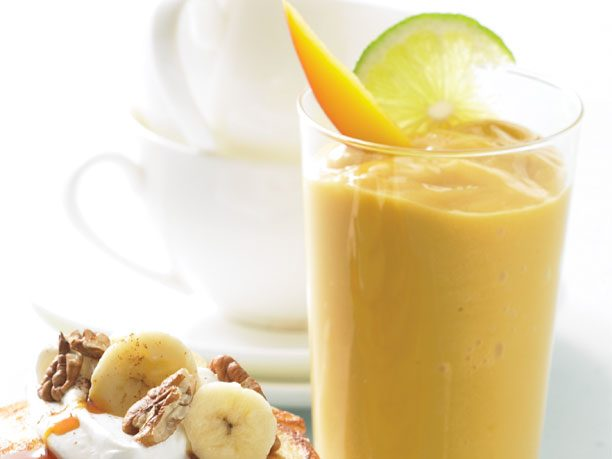 2. Secret Ingredient Mango Smoothie