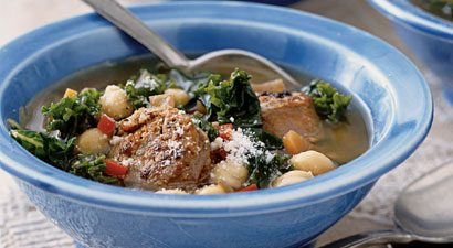 Portuguese Kale Soup With Beans