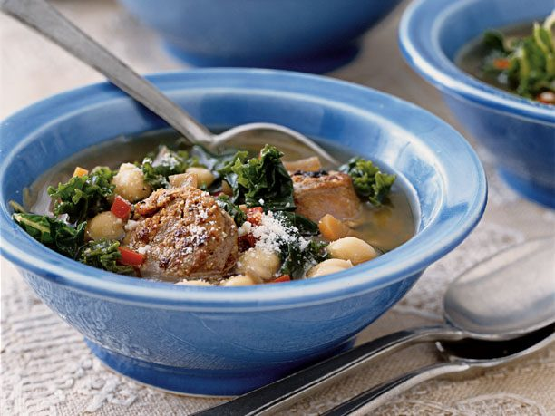 "<a href=""http://www.rd.com/food/portuguese-kale-soup-with-beans/"">Portuguese Kale Soup With Beans</a>"