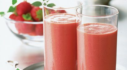 Strawberry-Yogurt Smoothies