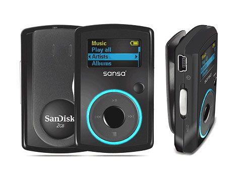 7. Sandisk Sansa Clip 2GB MP3 Player