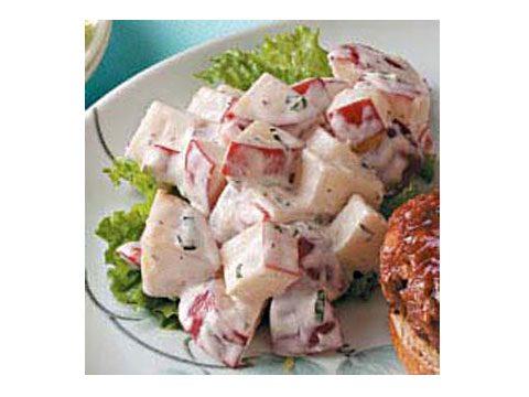 Garlic Ranch Potato Salad