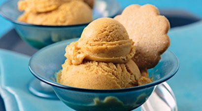 Homemade Pumpkin Spice Ice Cream