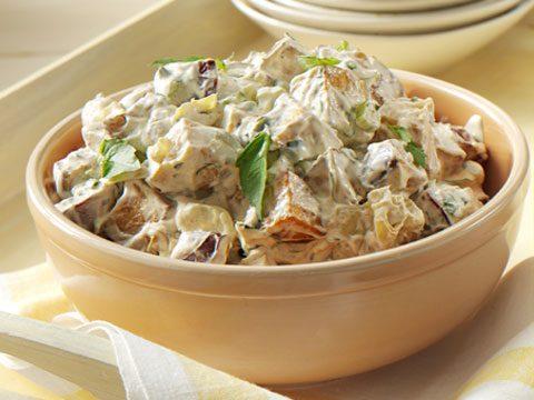 Smoky Spanish Potato Salad