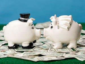 wedding piggy banks