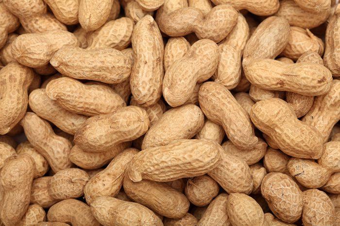 Peanuts. Close-up.