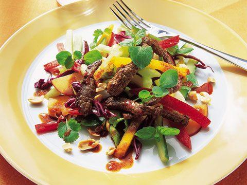 Thai-Style Stir-Fried Beef With Mango