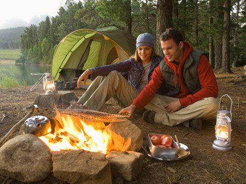 1. Camping for two