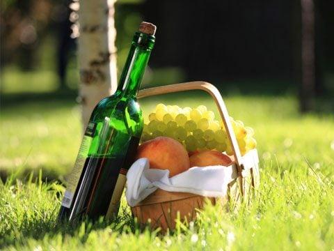 9. Sunset picnic