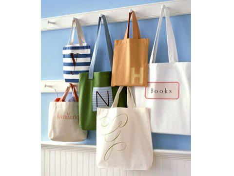 Handmade Shopping Totes