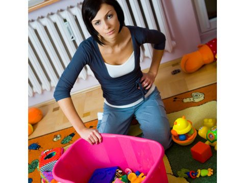 6. If your house is a disorganized mess it makes it harder for me to clean.
